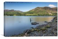 Buttermere Lake, Lake  District, Cumbria, Canvas Print