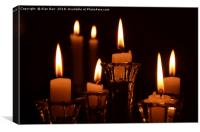 Candle Light, Canvas Print