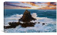 Land's End Sunset, Canvas Print