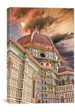Florence Church Il Duomo, Canvas Print