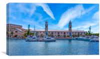 Royal Naval Dockyard in Bermuda's West End, Canvas Print