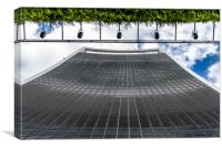 Looking up at 20 Fenchurch Street, Canvas Print