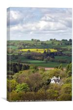From Kinver Edge, Canvas Print