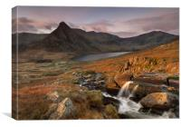Tryfan View., Canvas Print