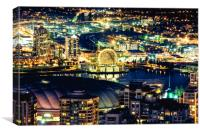 Science World Vancouver, Canvas Print