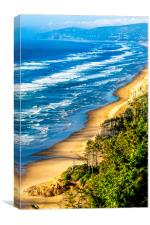 Cape Lookout Oregon Pacific Coast 0636, Canvas Print