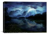 Swithland Storm, Canvas Print
