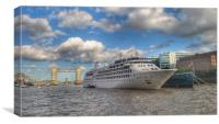 Silver Wind Cruise in London , Canvas Print