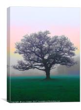 Tree on Wimbledon Common, Canvas Print
