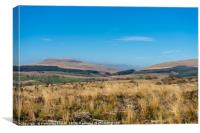 Brecon Beacons National Park, Wales, Canvas Print
