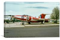 Gloster Javelin FAW.9 XH897, Canvas Print