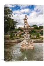 Harewood Grounds Yorkshire, Canvas Print