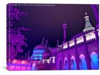 Brighton Pavilion, Canvas Print