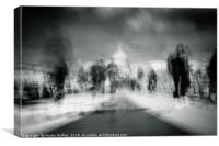 Visions of London, Canvas Print