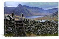 Ladder to Tryfan, Canvas Print
