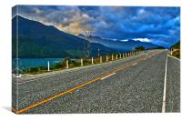 South Island Rush Hour, Canvas Print