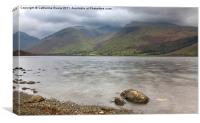 Wastwater to Scafell, Canvas Print