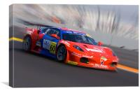 Rosso Racing, Canvas Print