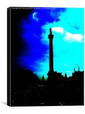 Nelson Column, Canvas Print