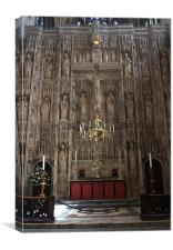Winchester Cathedral High Altar, Canvas Print