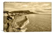 Sidmouth, Canvas Print