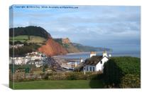 Sidmouth , Canvas Print