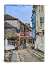 New Street Plymouth, Canvas Print