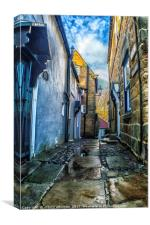 Robin Hoods Bay Whitby, Canvas Print