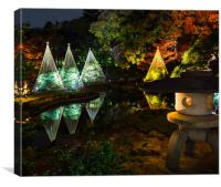 Lantern and Reflections, Canvas Print