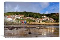 Runswick Bay, Canvas Print