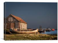 Stormy Weather at Thornham, Canvas Print