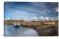The Timeless Thornham Old Harbour, Canvas Print