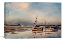 Peaceful end of Day  Digtal Art, Canvas Print