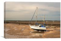 Fine Boat at East Fleet., Canvas Print