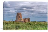 St Benet's Abbey c 1019, Canvas Print