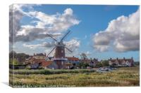 The Restored Cley Harbour, Canvas Print