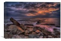 Peveril Point, Swanage, Canvas Print