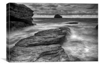 Trebarwith Strand, Canvas Print