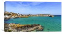 St Ives Cornwall, Canvas Print