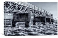 Dundee Rail Bridge, Canvas Print