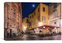 Lucca, Tuscany, Italy, Canvas Print