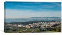 Tagus River, Portugal Panorama, Canvas Print