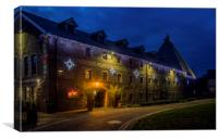 Christmas at the Maltings, Canvas Print