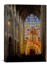 Helter Skelter at Norwich, Canvas Print