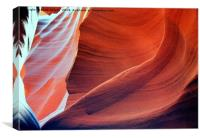 All colors of Antelope Canyon -1, Canvas Print
