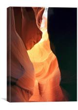 All colors of Antelope Canyon - 7, Canvas Print