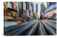 Times Square in New York, Canvas Print