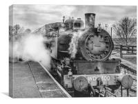 Kent and East Sussex Railway, Canvas Print