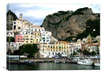 Amalfi in Italy, Canvas Print