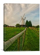 Path To The Windmill, Canvas Print